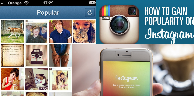 Instagram'da Popüler Olmak