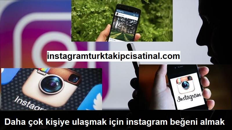instagram beğeni almak