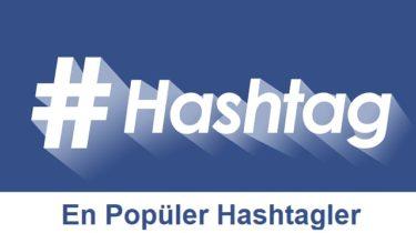 en popüler instagram hashtagleri