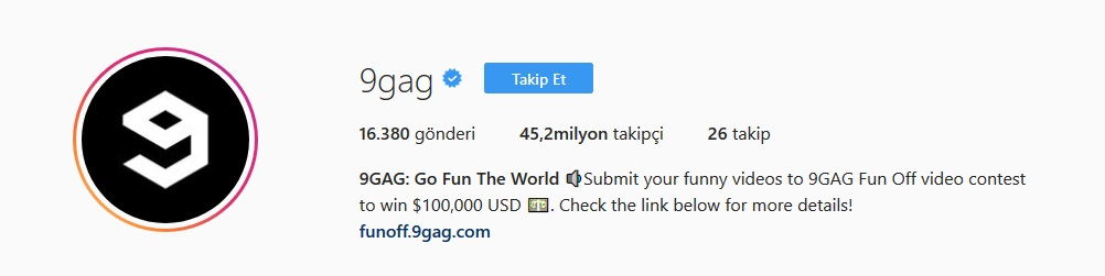 instagramda takip etmelik komik sayfalar 2018